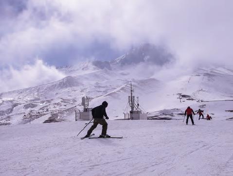 Fofoğraf 1.1.4 Erciyes Dağı kayak tesisleri