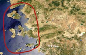 Fotoğraf 1.100 Enine kıyı tipi (Ege kıyıları)