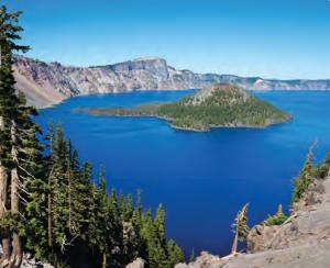 Fotoğraf 1.112 Oregon Krater Gölü (ABD)