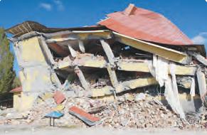 Fotoğraf 1.15 Depremler, bazen can ve mal kayıplarına neden olur.