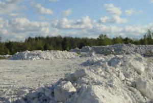 Fotoğraf 1.16 Talk, aşınmaya karşı direnci az olan kayaçlardandır.