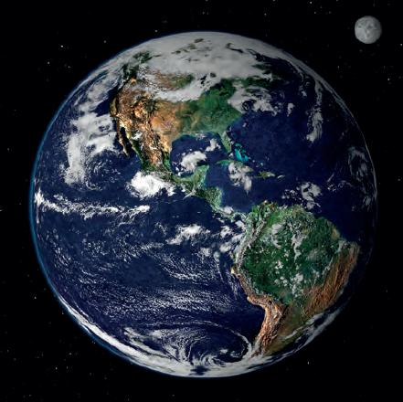 Fotoğraf 1.2.1 Dünya'nın şekli