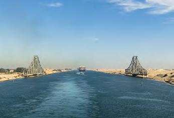 Fotoğraf 1.3.2 Süveyş Kanalı'ndan dolayı Mısır önemli bir konuma sahiptir.