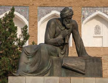 Fotoğraf 1.4.2 Harezmi'nin heykeli (Özbekistan)