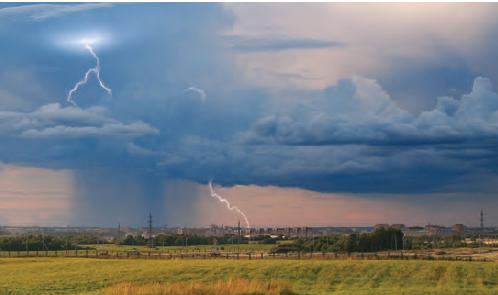 Fotoğraf 1.5.1 Hava olaylarına daha çok atmosferin alt kısımlarında rastlanır.