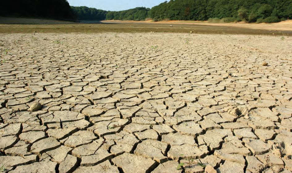 Fotoğraf 1.5.33 Kuraklık sonucunda birçok su kaynağı kurumaktadır.