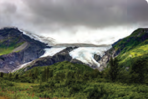 Fotoğraf 1.52 Sirk buzulu (Alaska)