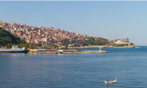 Fotoğraf 3.12 Kırsal bir yerleşme iken kentsel yerleşmeye dönüşen Zonguldak'tan bir görünüm