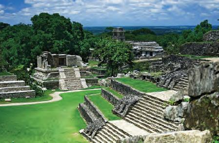 Fotoğraf 3.14 Maya uygarlığına ait kalıntılar (Meksika)