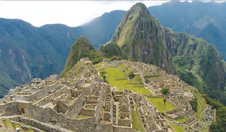 Fotoğraf 3.15 İnkalardan kalma bir antik kent kalıntısı [Machu Picchu (Maçu Piçu) Peru]