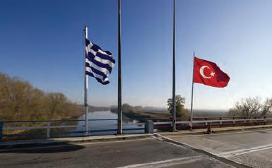 Fotoğraf 3.16 Türkiye ile Yunanistan sınırı