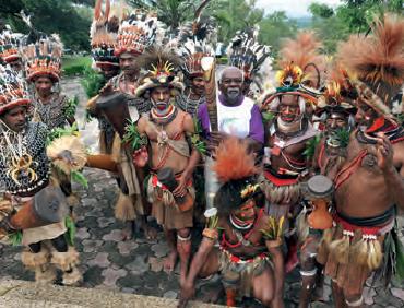 Fotoğraf 3.22 Avustralya'nın yerli halkı olan Aborjinlerden bir görünüm