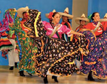 Fotoğraf 3.23 Latin Amerika yerli danslarından bir görünüm