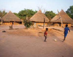 Fotoğraf 3.26 Afrika geleneksel köylerinden bir görünüm