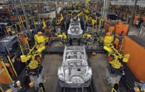 Fotoğraf 3.38 Japonya'da bir otomobil fabrikası