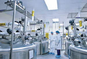 Fotoğraf 3.39 İsviçre'de bir ilaç fabrikası