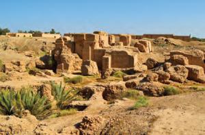 Fotoğraf 3.4 Babil uygarlığından kalma saray kalıntıları