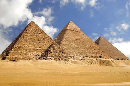 Fotoğraf 3.5 Mısır uygarlığından kalma piramitler