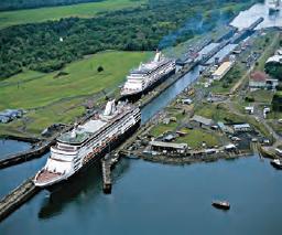 Fotoğraf 3.5 Panama dünyanın en işlek deniz yollarındandır.