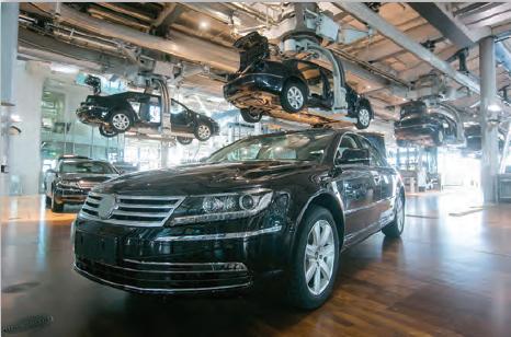 Fotoğraf 3.52 Almanya, otomotiv sanayisi gelişmiş ülkelerdendir.
