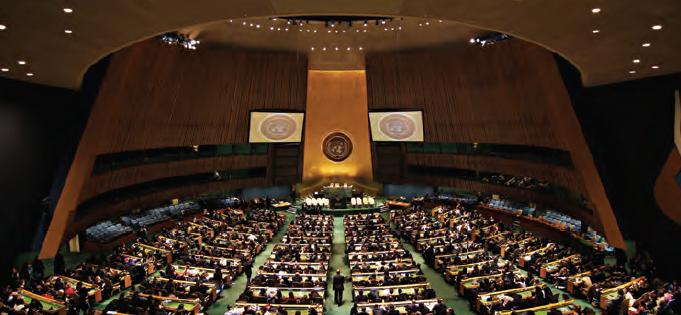 Fotoğraf 3.66 Birleşmiş Milletler, bir toplantı hâlindeyken