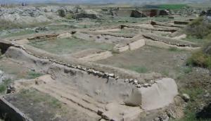 Fotoğraf 3.7 Frigyalıların başkenti Gordion kalıntılarından bir görünüm (Polatlı, Ankara)