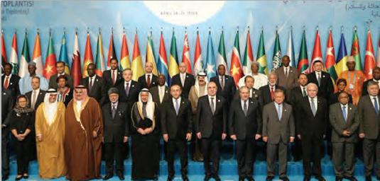 Fotoğraf 3.71 İslam İş Birliği Teşkilatı temsilcilerinin bir kısmı