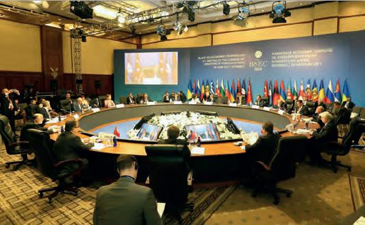 Fotoğraf 3.74 Karadeniz Ekonomik İş Birliği İstanbul'da bir toplantı hâlinde