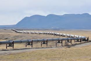 Fotoğraf 3.9 Doğal gaz boru hattından bir görünüm