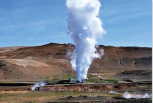 Fotoğraf 4.19 Jeotermal enerji, tükenmeyen doğal kaynaklardandır.