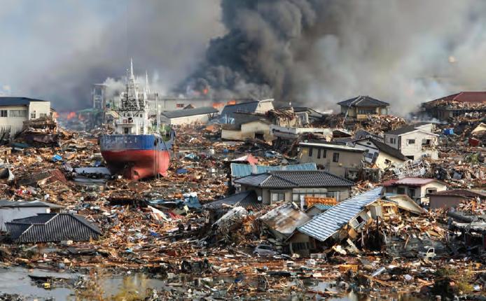Fotoğraf 4.5 Bir tsunamiden sonra (Japonya, 2011).