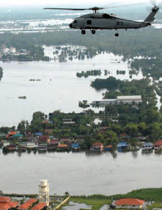 Fotoğraf 4.8 Ani ve fazla yağışlar bazen su baskınlarına neden olabilmektedir (Çin).