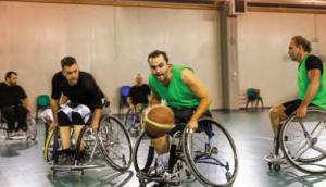 Görsel 1.10 Sportif faaliyetlerde yer alan engelli bireyler