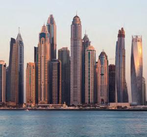 Görsel 1.29 Dikey yerleşmeye bir örnek, Dubai