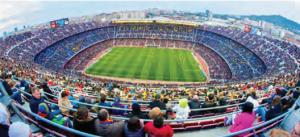 Görsel 1.7 Stadyumlar şehir yaşamının önemli sportif sosyal alanlarıdır.