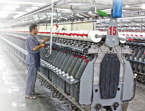 Görsel 2.10 GAP Bölgesinde yer alan Gaziantep'te dokuma fabrikası