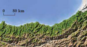 Harita 1.11 Boyuna kıyılar (Karadeniz)