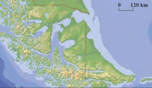 Harita 1.12 Skyer tipi kıyı (Arjantin-Şili)