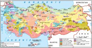 Harita 1.26 Türkiye'de toprak tipleri (traglor.cu.edu.tr)