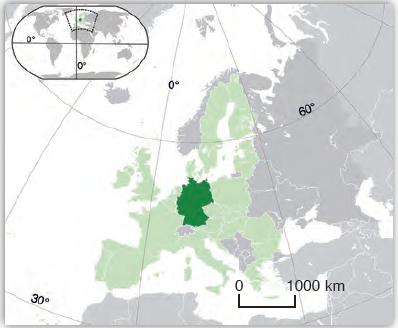 Harita 3.6 Almanya lokasyon haritası