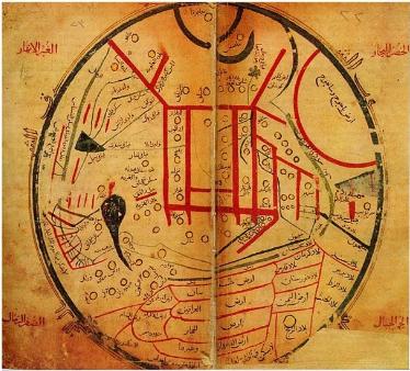 Kâşgarlı Mahmud'un Haritası