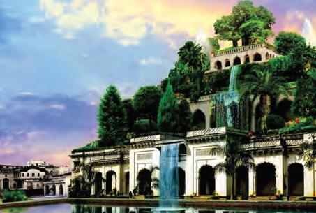 Resim 3.1 Babil'in Asma Bahçeleri